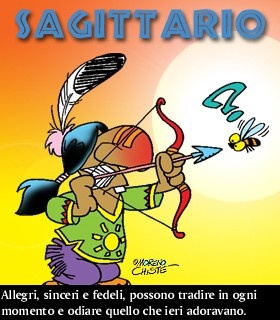 Il segno zodiacale del saggitario e le sue caratteristiche - Toro e sagittario a letto ...